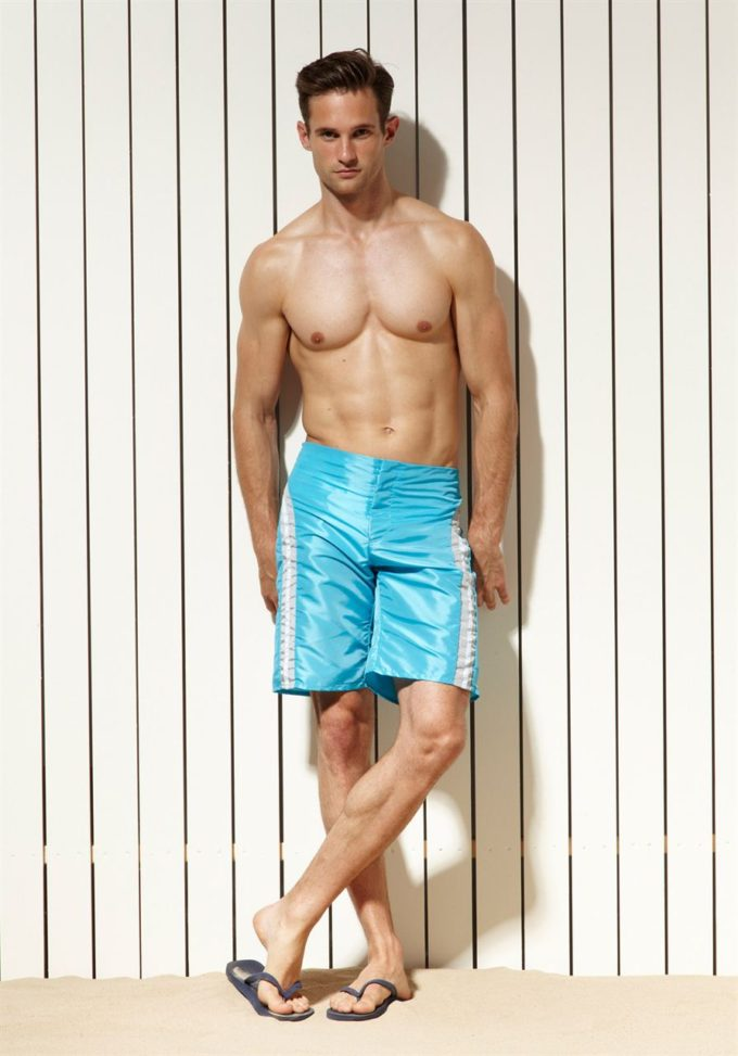 Rollick Turquoise - KoMocean Mens Fashion Swimwear