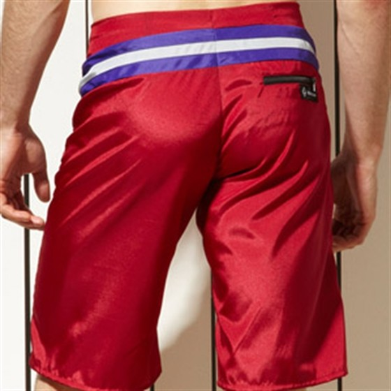 Rollick Red - KoMocean Mens Swimwear