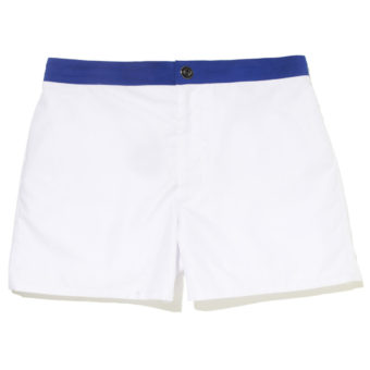 Revel White - KoMocean Mens Designer Swimwear