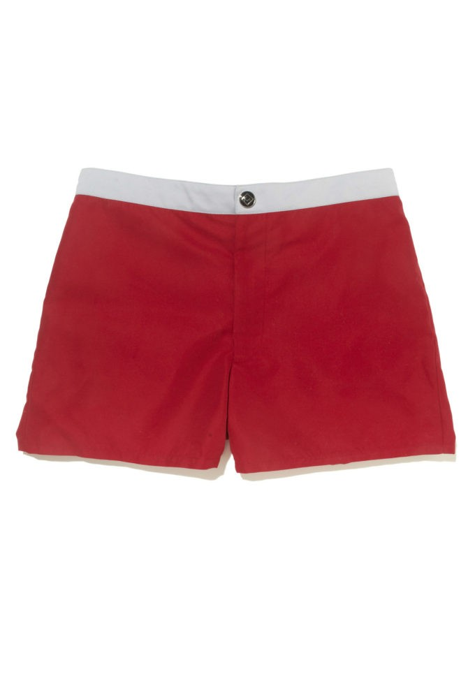 Revel Red - KoMocean Mens Swim Shorts