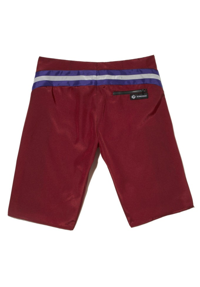 Rollick Red - KoMocean Mens Resort Wear