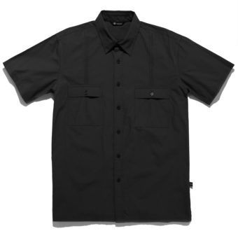 Aiden Button Down Shirt Black - KoMocean Upscale Cruise Wear