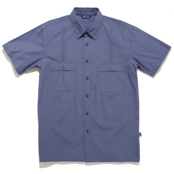 Aiden Button Down Shirt Slate - KoMocean Upscale Beachwear