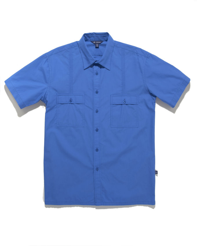 Aiden Button Down Shirt Dark Blue - KoMocean Beach Wear