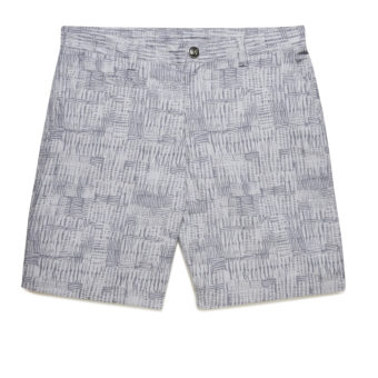Riviera Club Pier Silver Shorts - Front