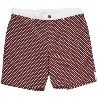 Remy Pompeii Red Shorts - Front